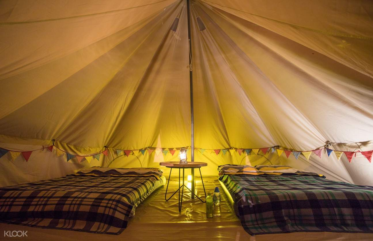 YHA Chek Keng Bell Tent Inside