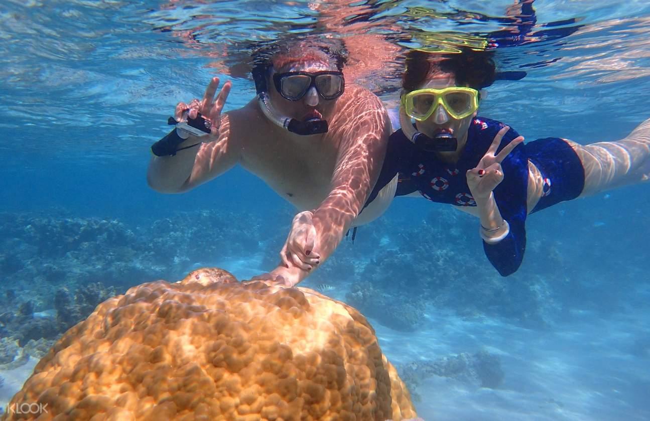 水晶湾浮潜