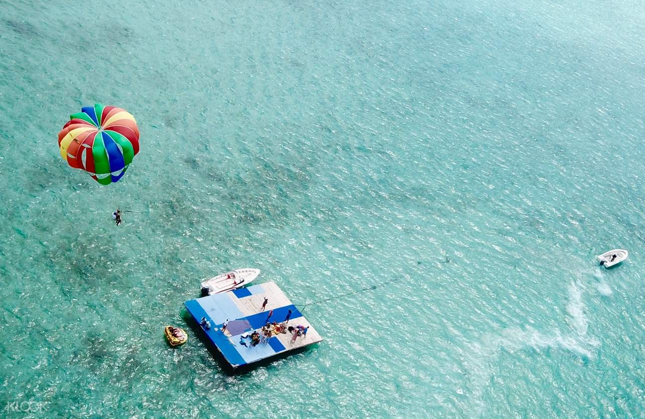 毛里求斯鹿島,毛里求斯一日遊,毛里求斯旅遊,毛里求斯著名景點,毛里求斯藍海灣浮潛,