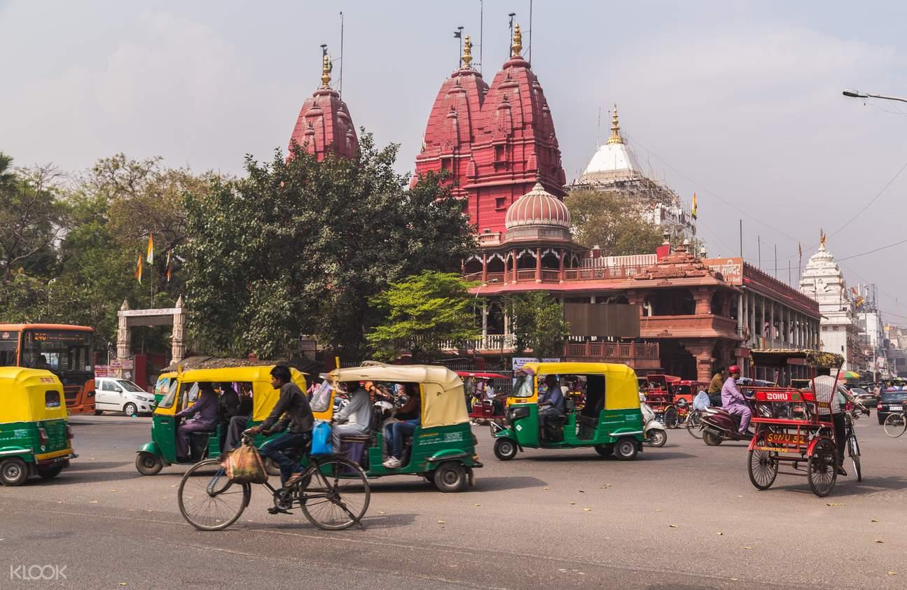 德裏寺廟步行遊覽之旅