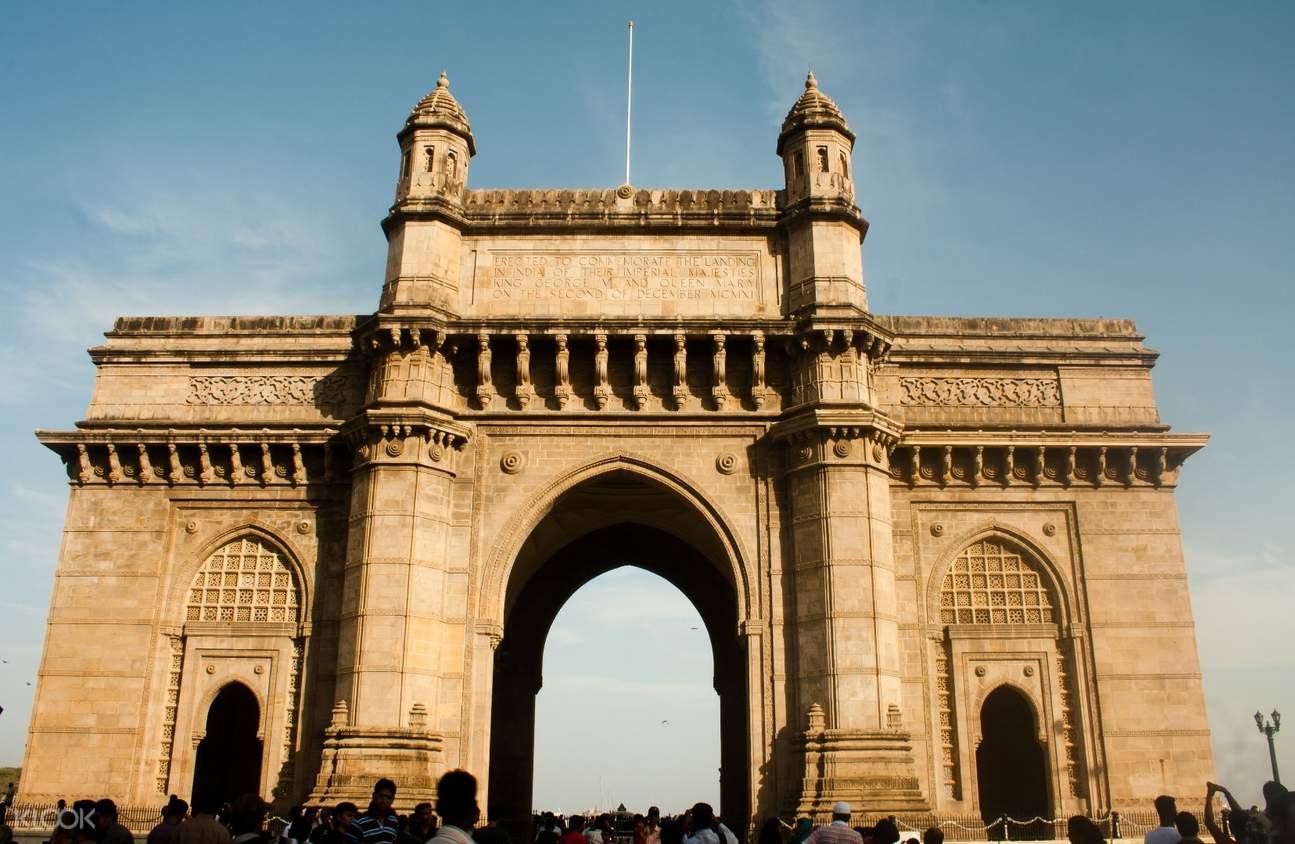印度南孟買徒步探索之旅印度門