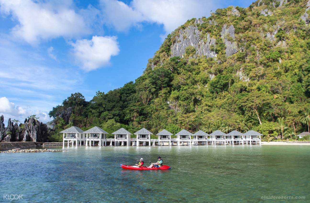 Nestled between a lush four-hectare forest and a calm, shallow lagoon, Lagen Island, El Nido Resorts' Eco-Sanctuary island resort, has the densest forest over limestone out of the 45 islands and islets of Bacuit Bay