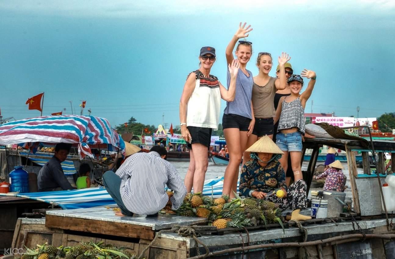 湄公河旅游,湄公河两日游,越南水上市场,永长寺,芹苴,湄公河体验