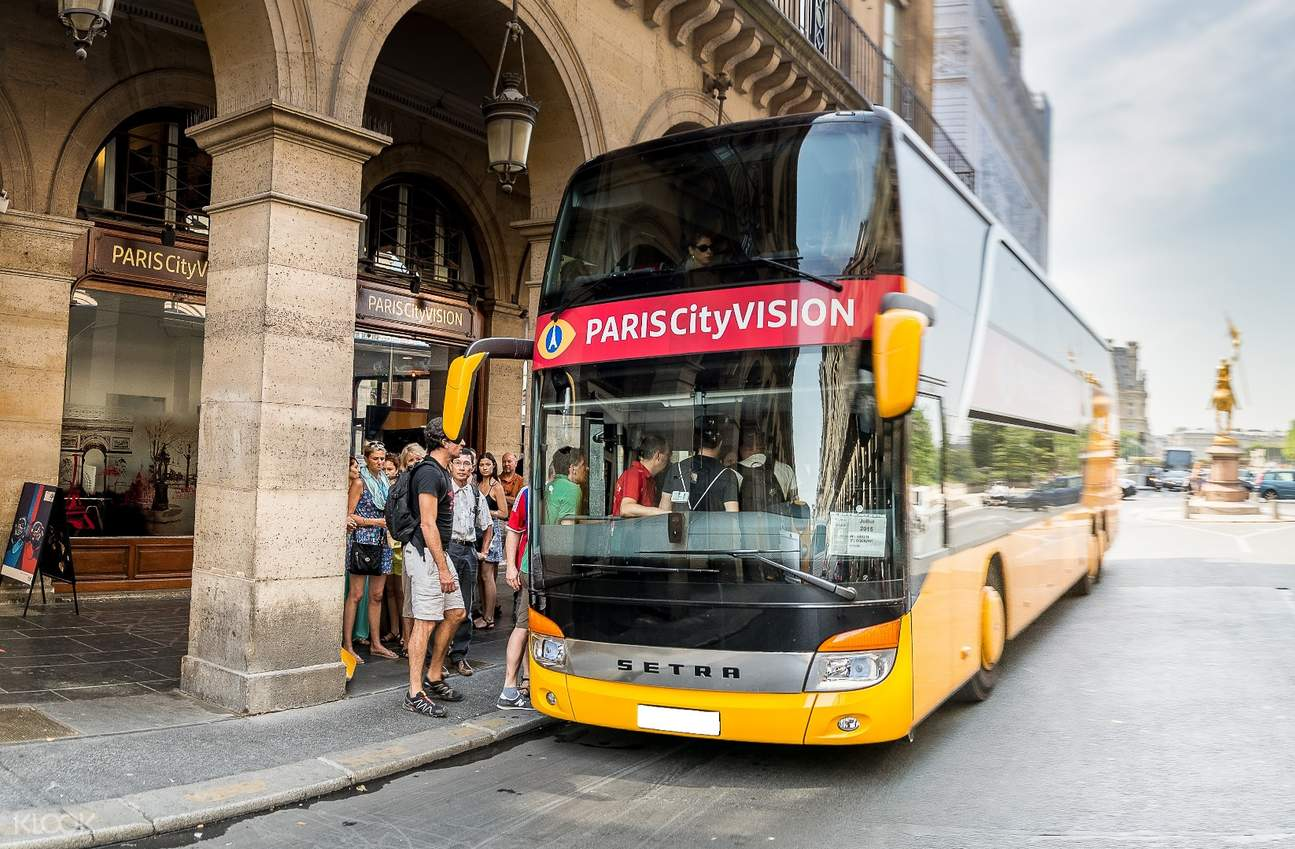 巴黎观光巴士