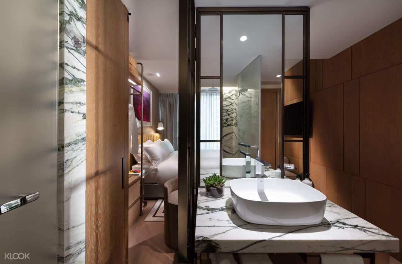 The Hari Hong Kong - 大床房浴室