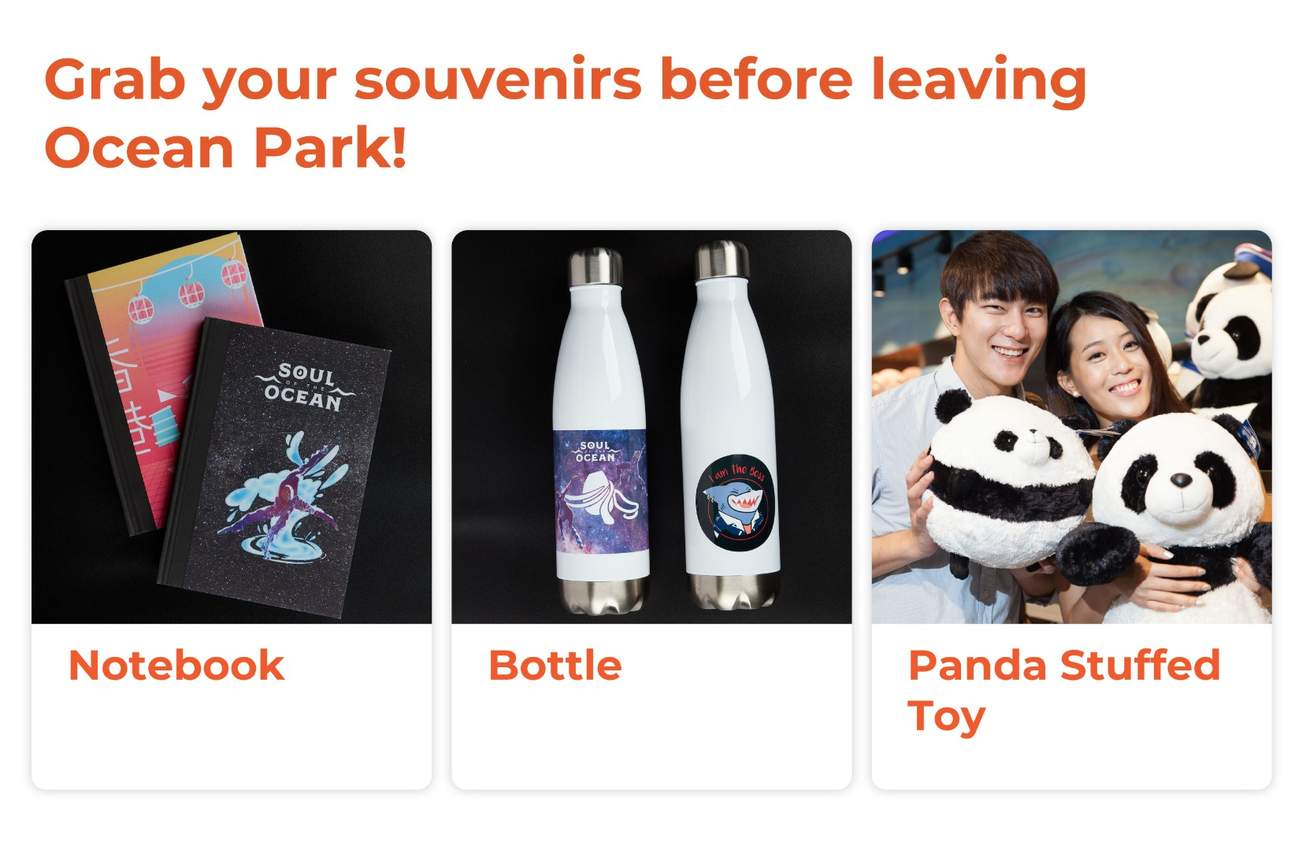 Ocean Park souvenirs