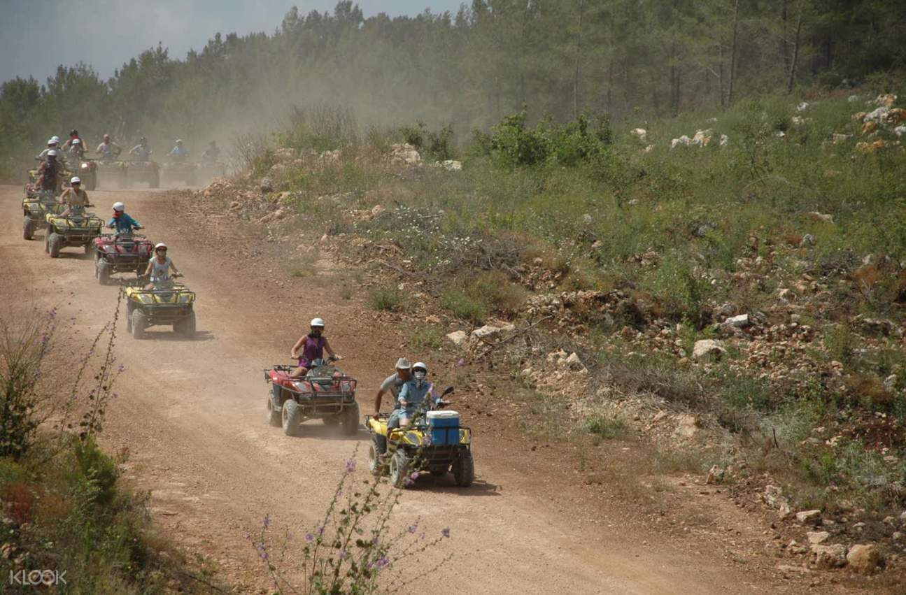 安塔利亞越野車托魯斯山脈