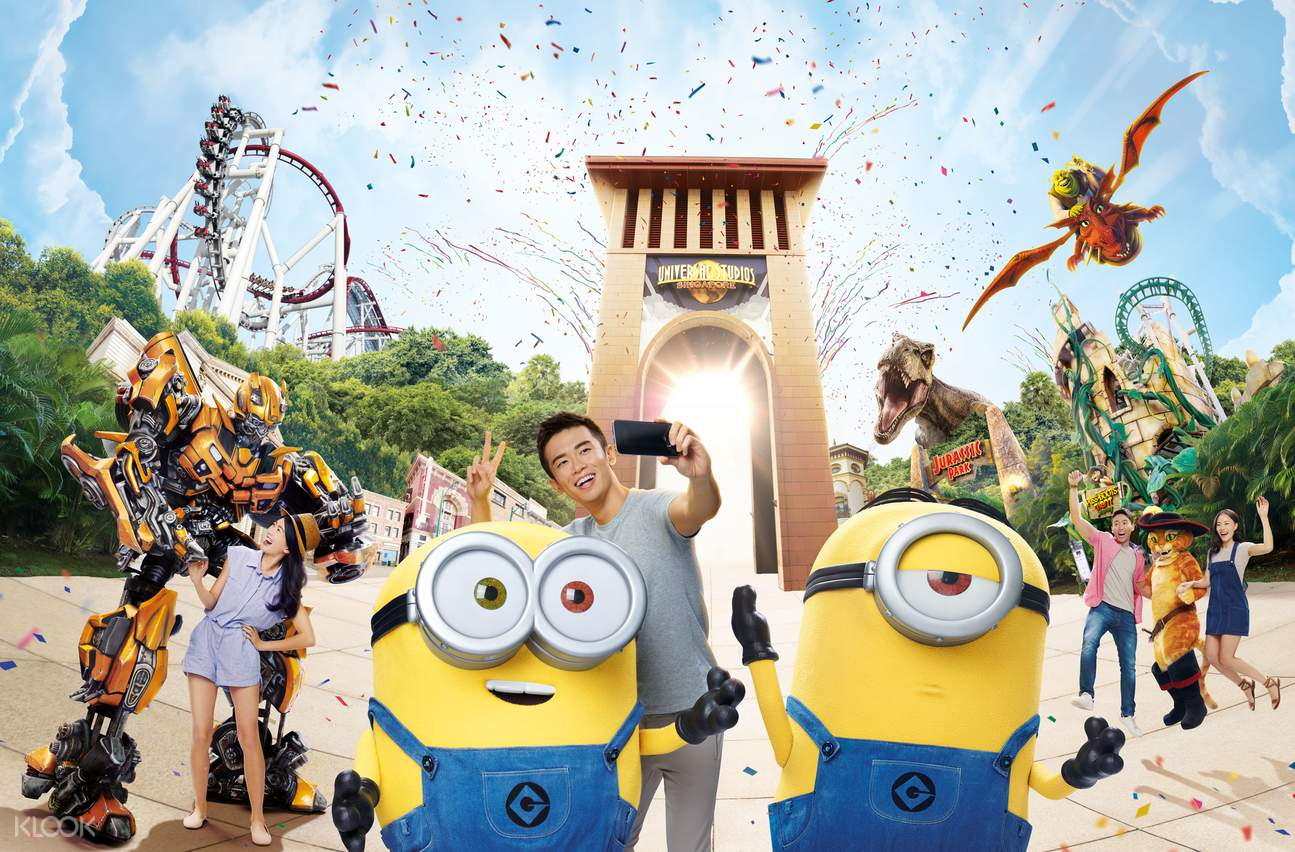 Universal Studios Singapore (Imagery shown may not represent current operational and safety guidelines)