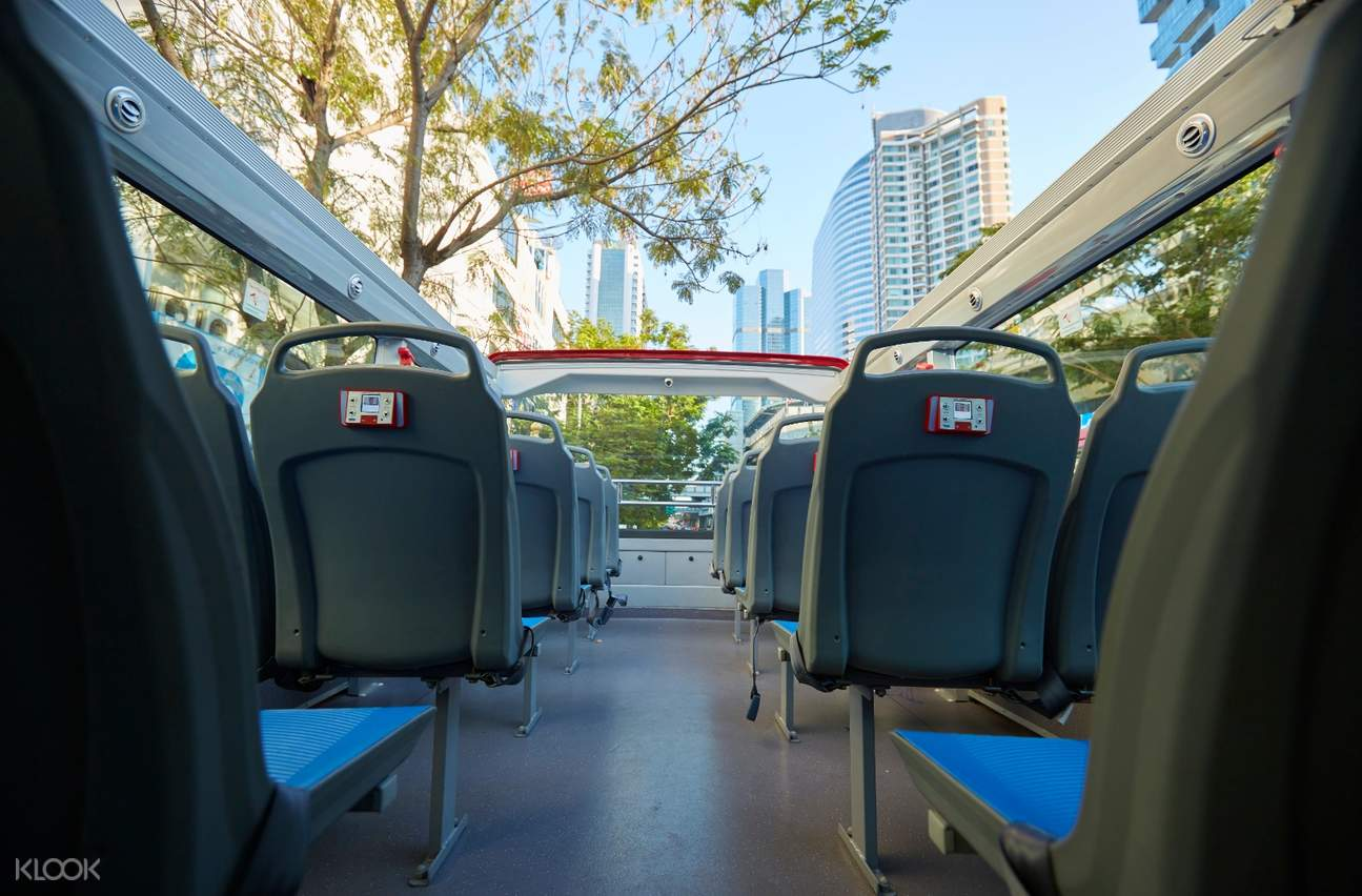 double-decker bus in bangkok