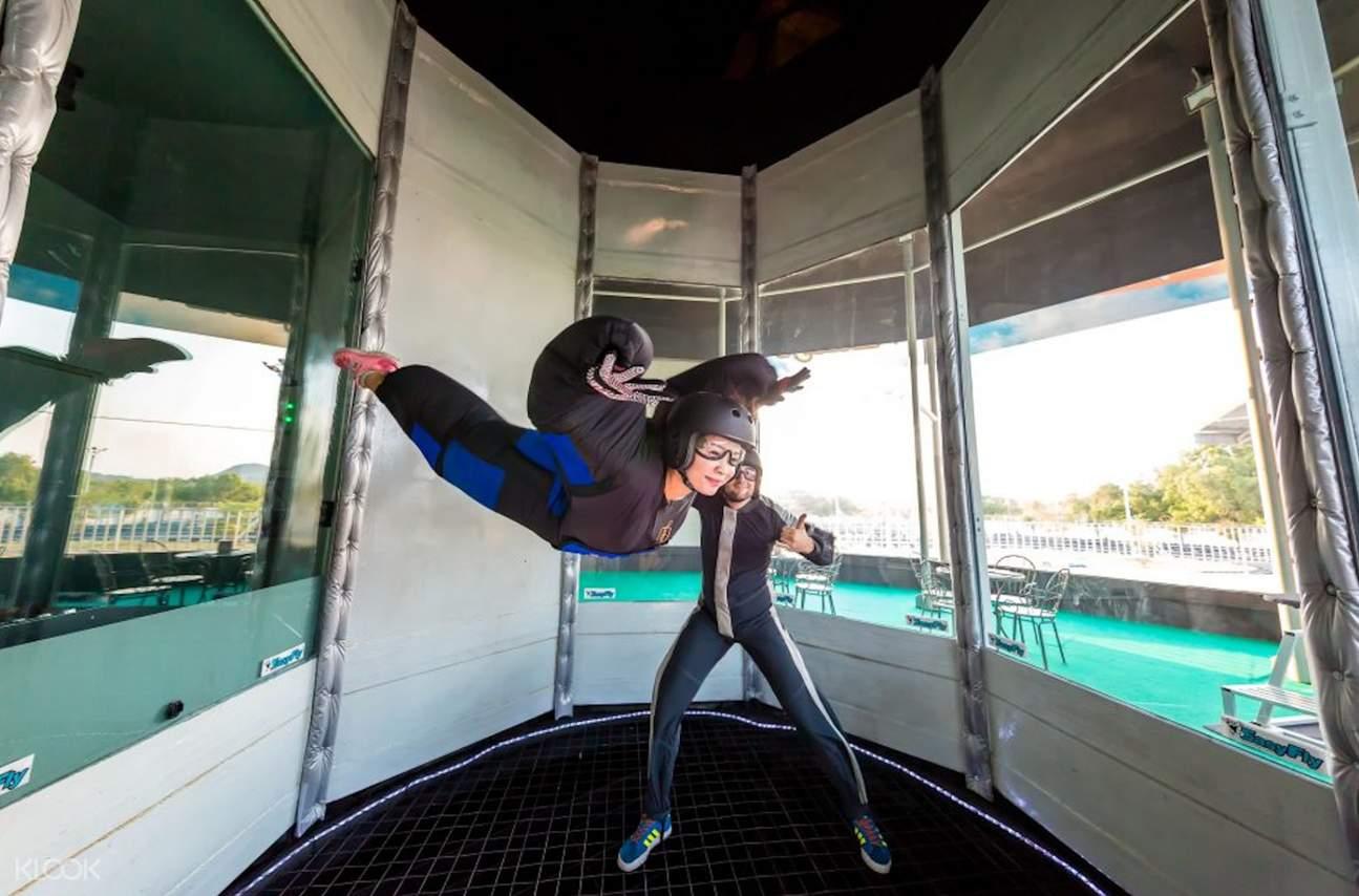 skydiving koh samui thailand
