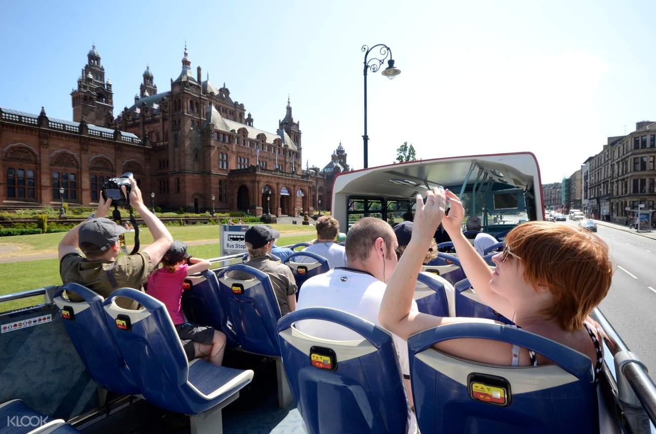 glasgow red bus tour