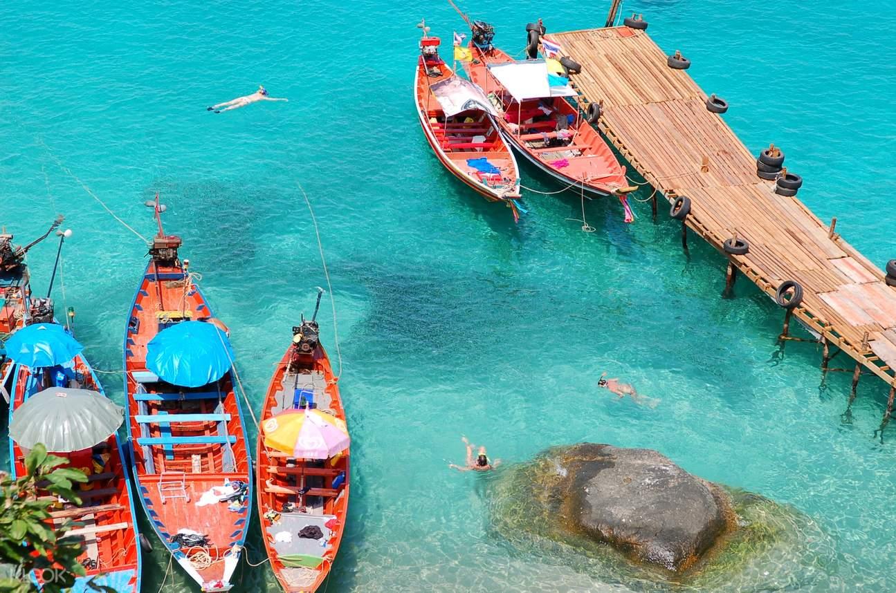 皮皮岛私人长尾船半日游
