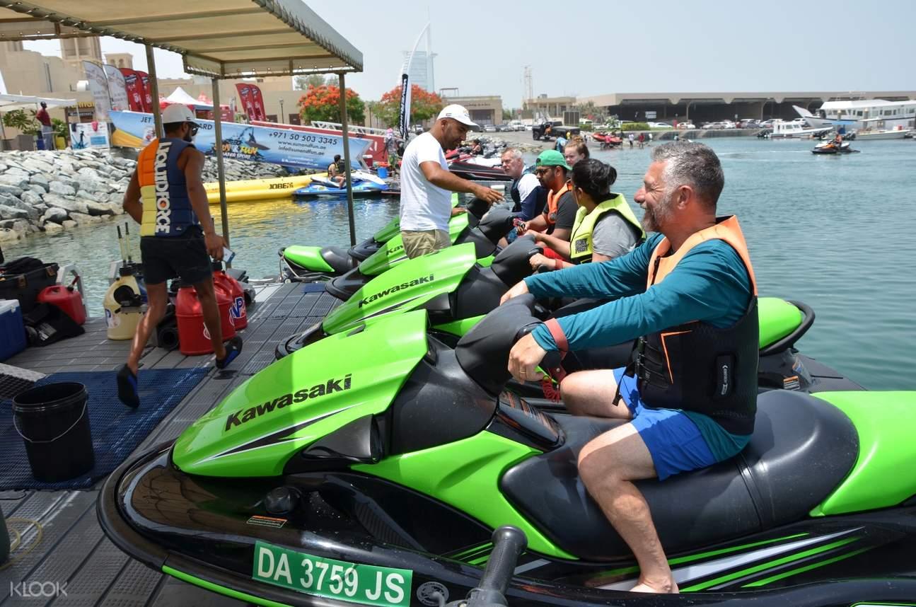 杜拜水上摩托艇體驗