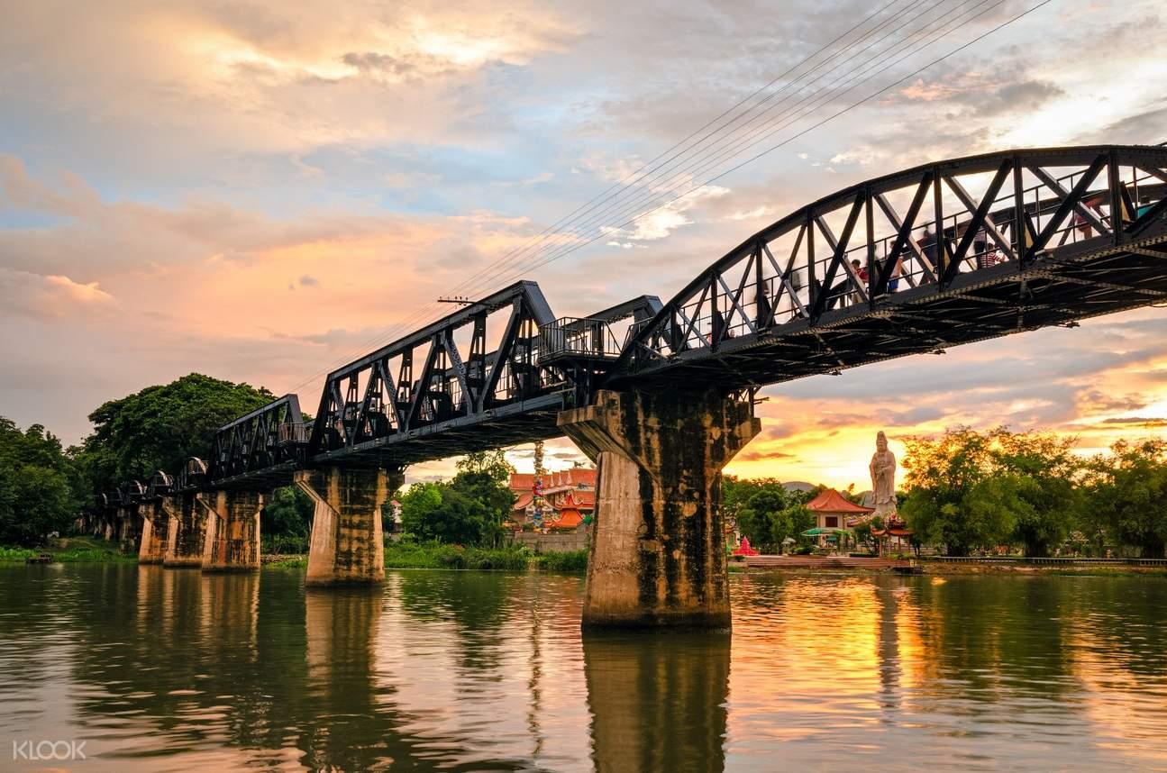Jembatan Sungai Kwai Day Tour Pribadi Kanchanaburi Highlights
