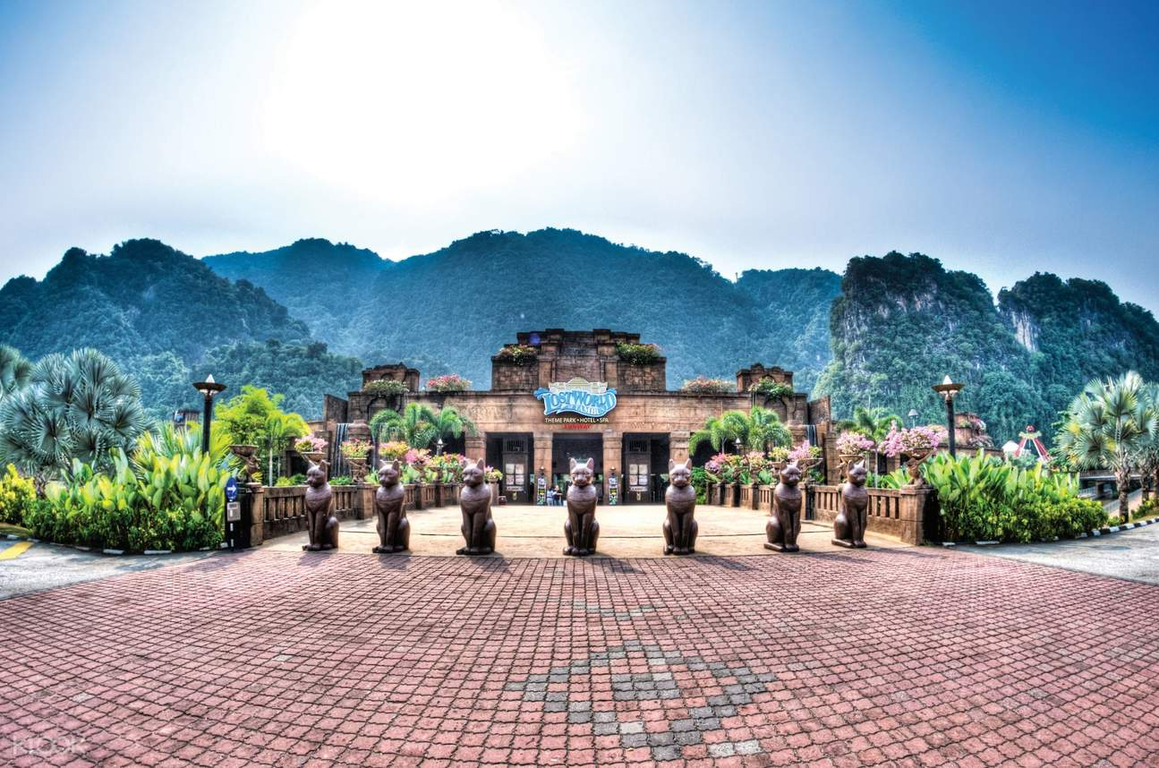 entrance lost world of tambun ipoh