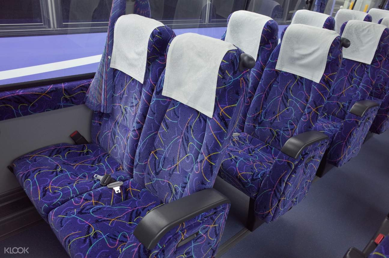 interior of limousine bus