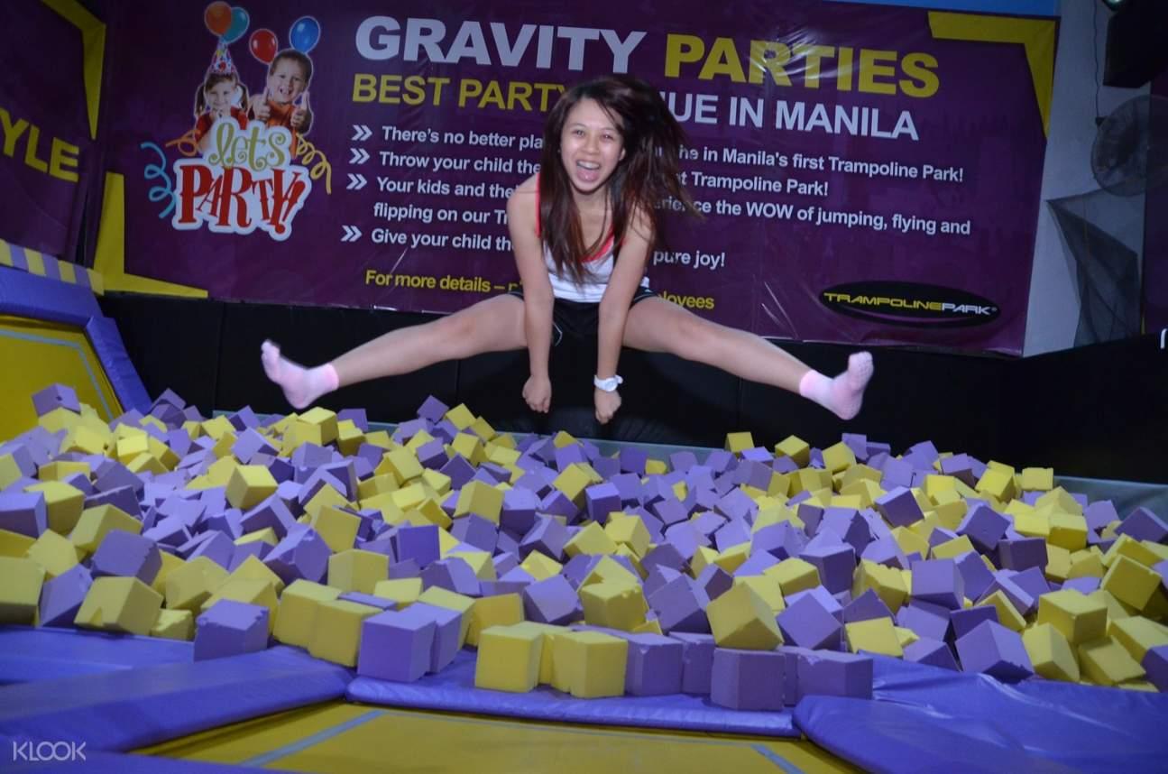 trampoline park philippines admission ticket