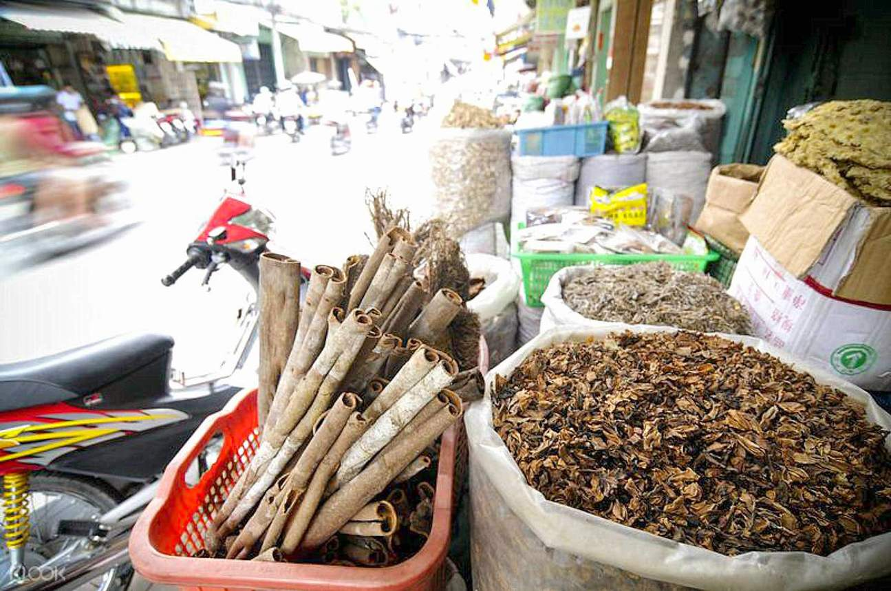 traditional medicine market
