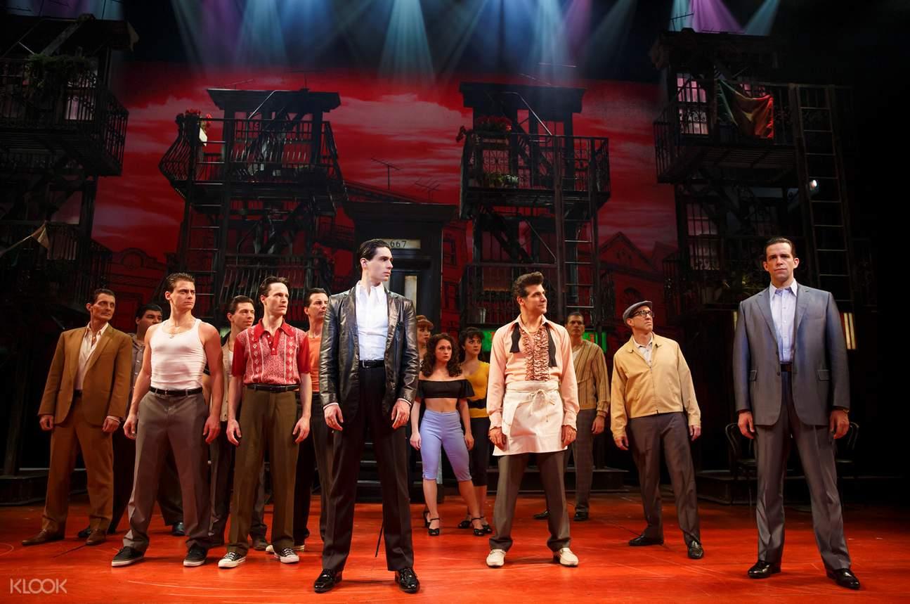 「布朗克斯的故事」百老匯音樂劇門票