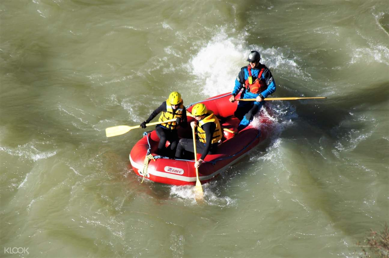 hanmer springs rafting