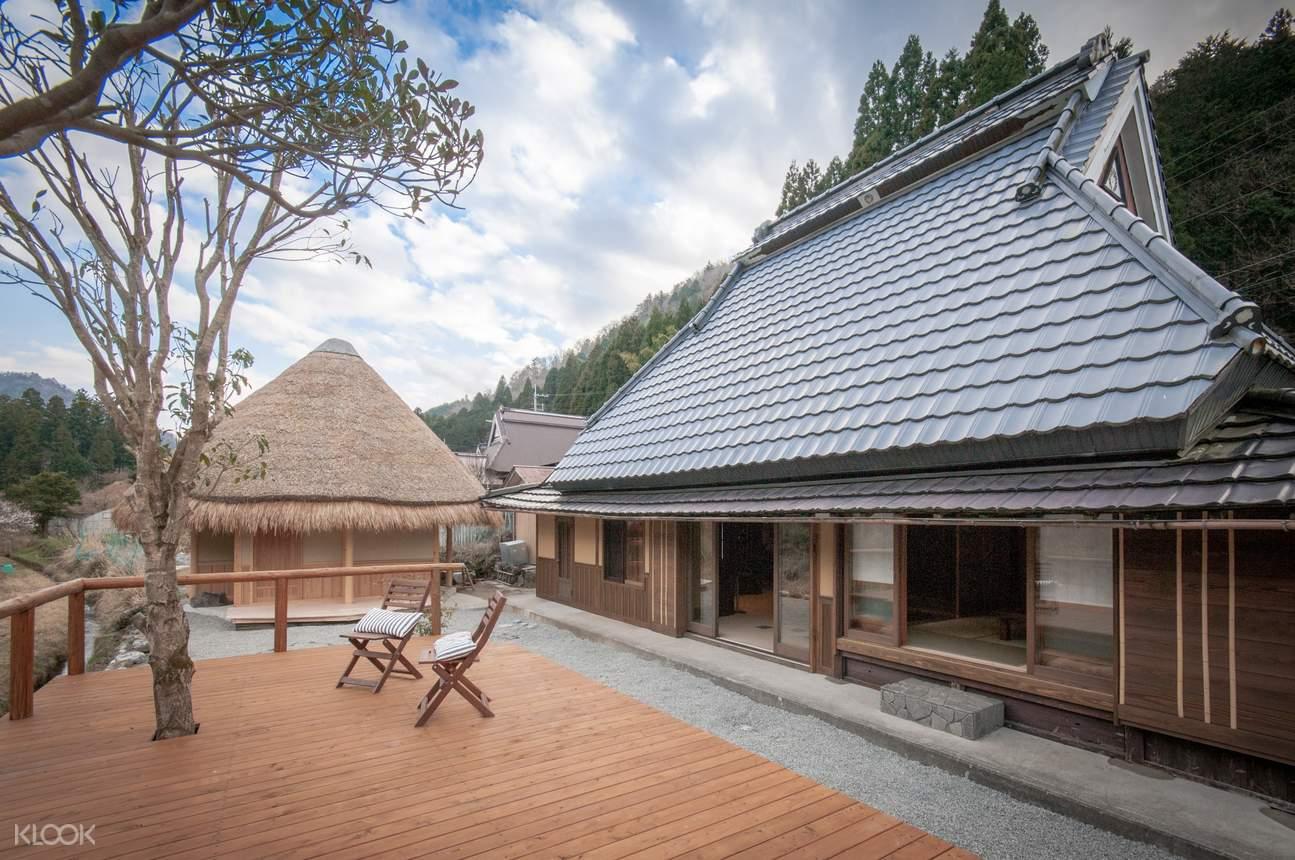 京都・かやぶき体験