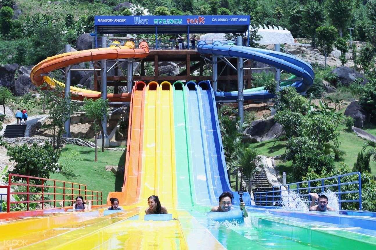 Water Park - Nui Than Tai Hot Springs Park