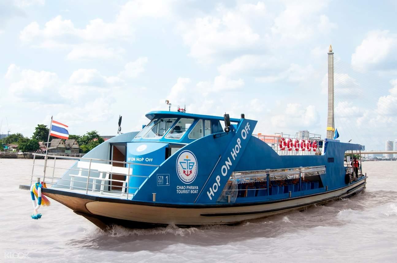 chao phraya hop on hop off boat tour bangkok