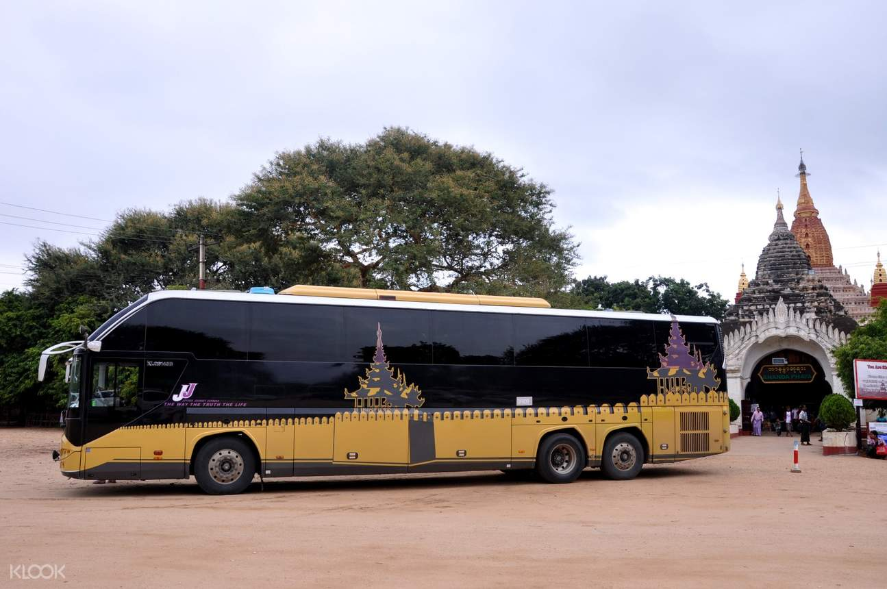 VIP Bus Ticket (One Way) between Yangon and Bagan