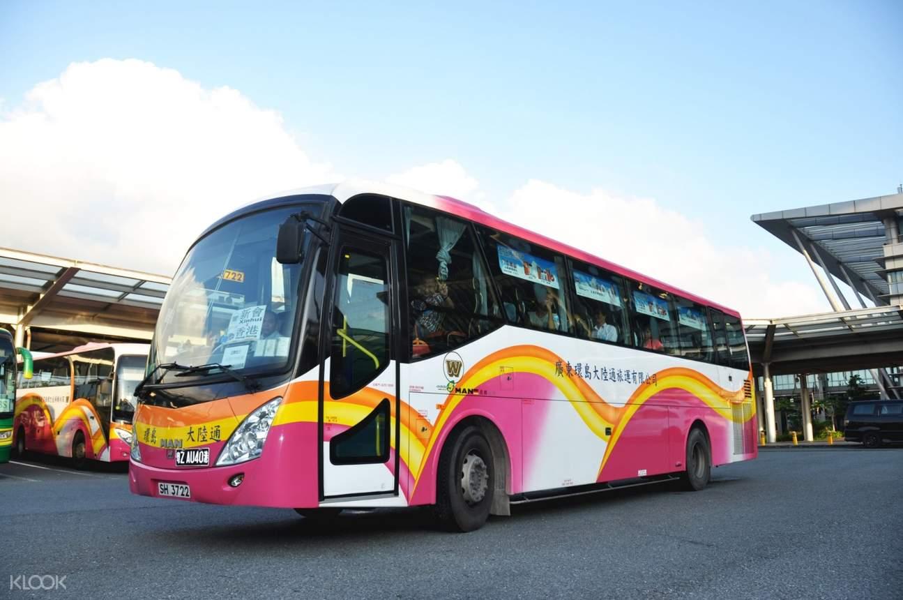 hong kong-guangdong bus transfer