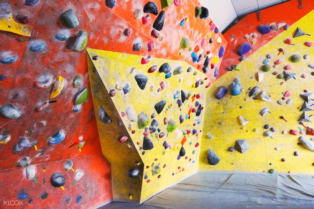 新加坡攀岩中心 抱石和攀岩项目通票