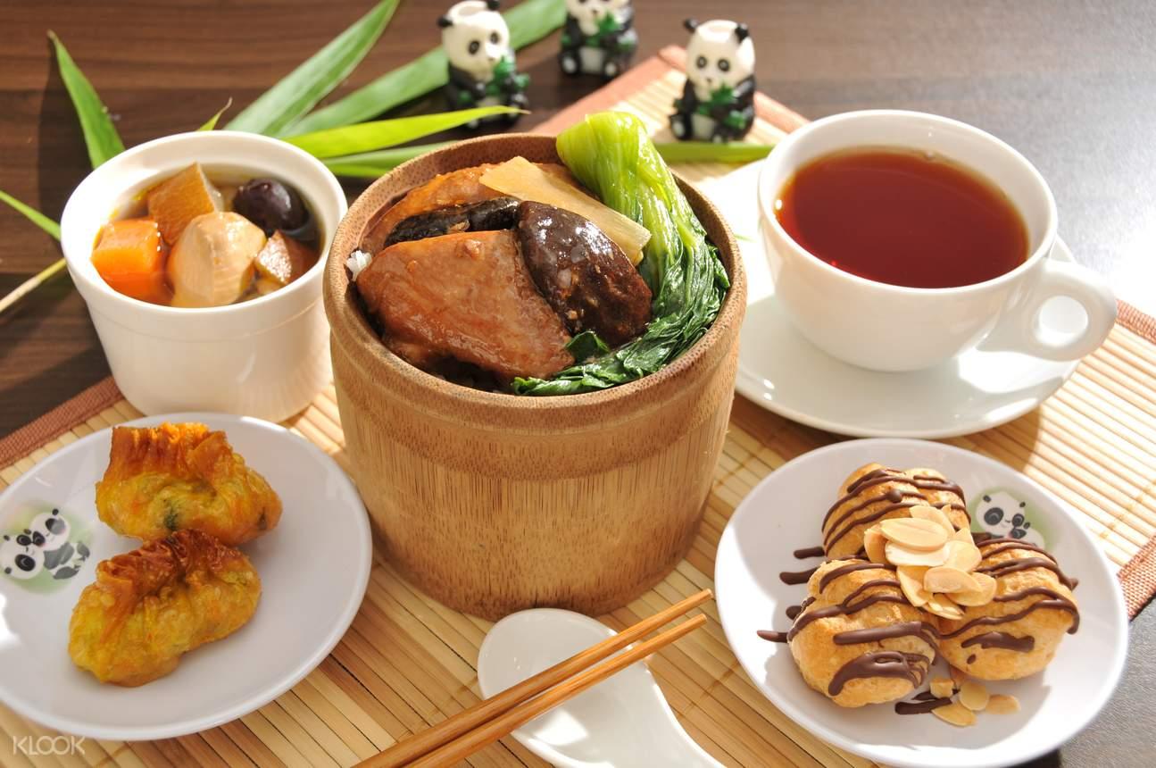 新加坡熊貓媽媽小吃餐廳午餐體驗