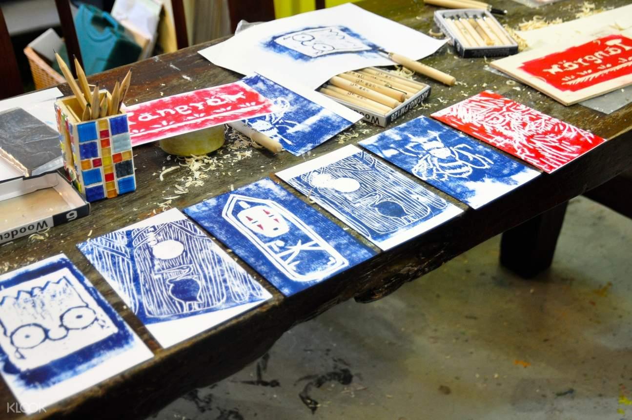 printmaking art workshop in hong kong