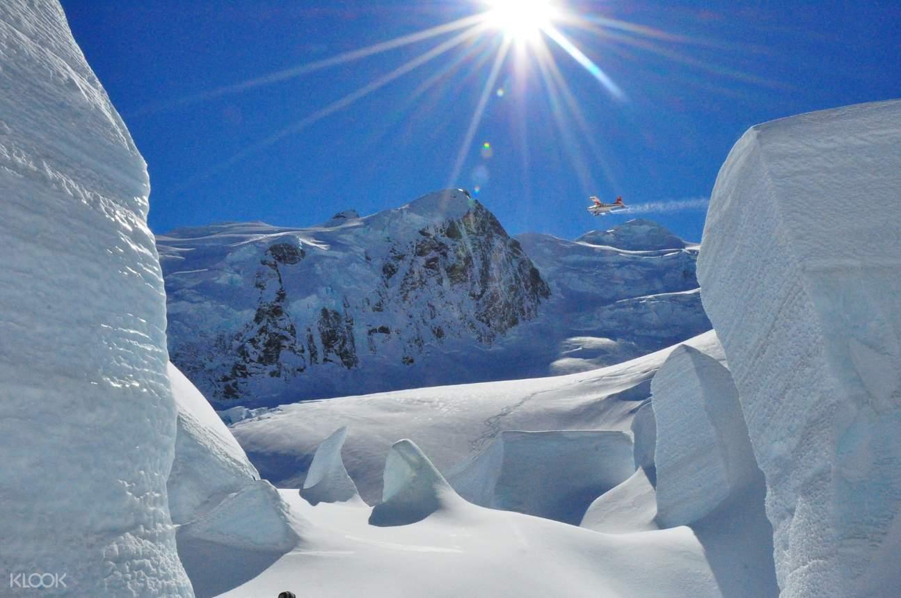 glacier in new zealand