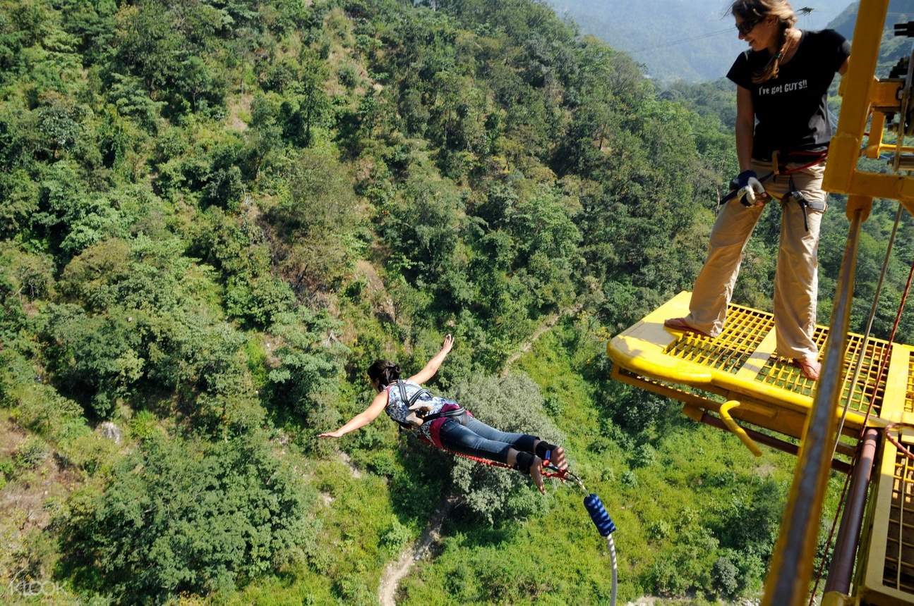 bungee jumping india
