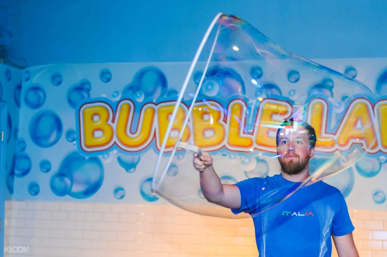 wonderworks Orlando bubble lab