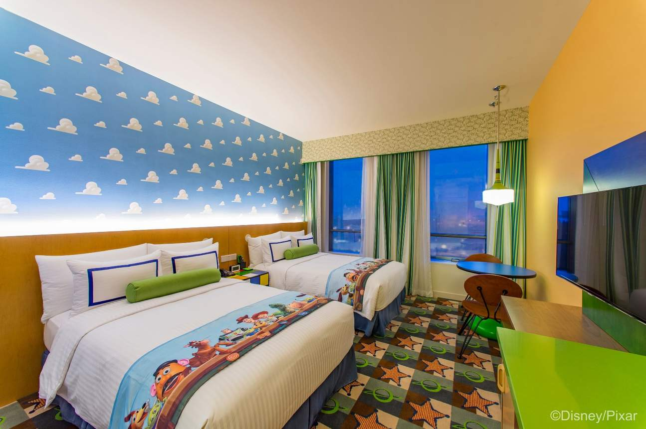 disney toy story hotel room shanghai