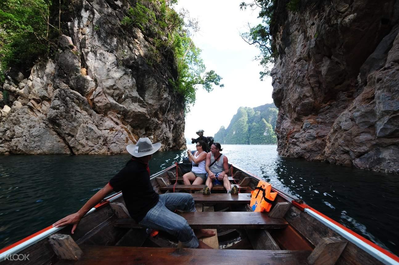 考索秀蘭湖(Cheow Lan Lake)一日遊(喀比島出發)