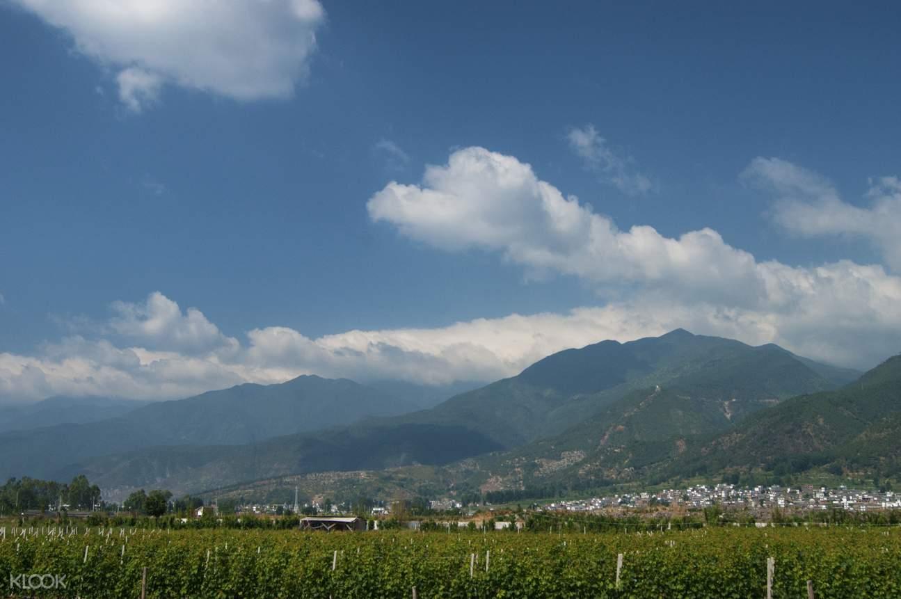 Dali province cloud formations