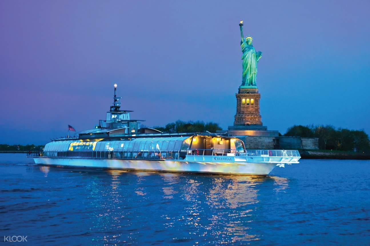 dinner cruise new york