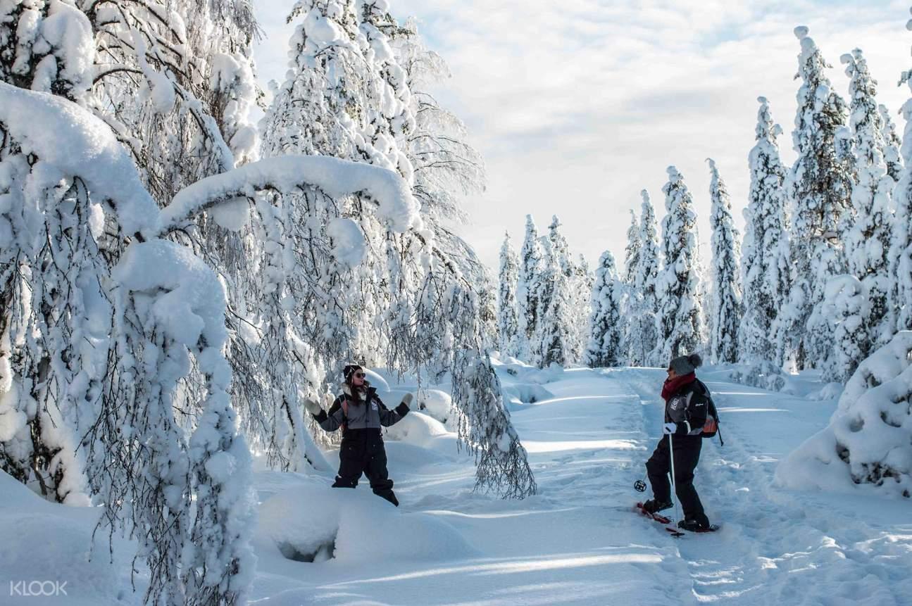 雪靴徒步之旅