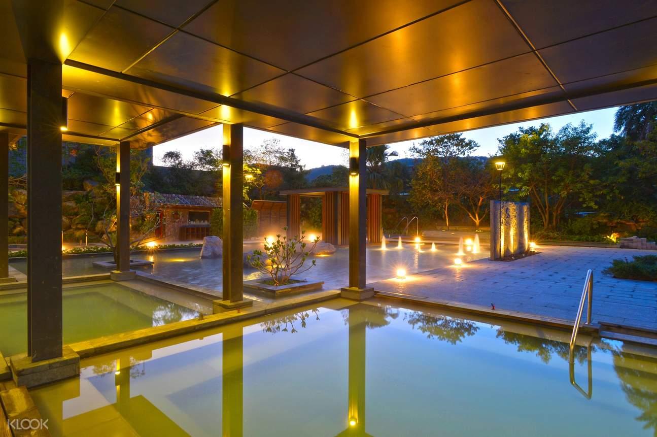 陽明山天籟渡假酒店溫泉體驗