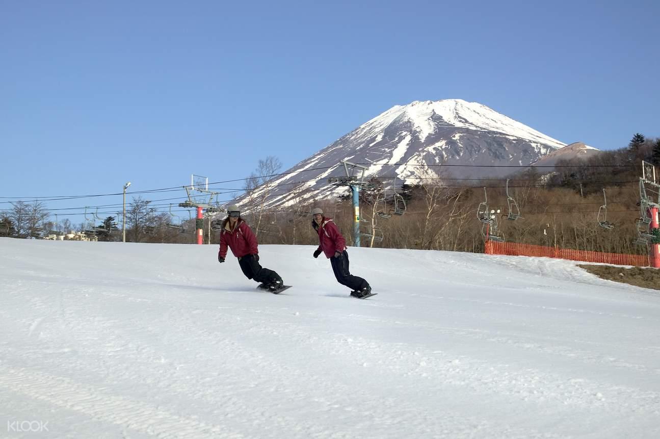 SnowTownYeti一日滑雪券