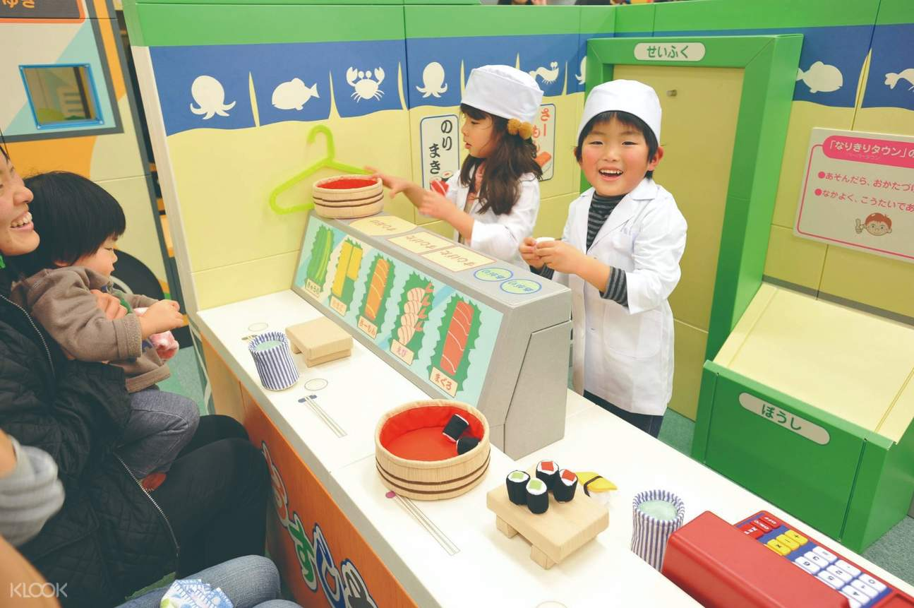 Make believe section at kidzoona in Klang Valley