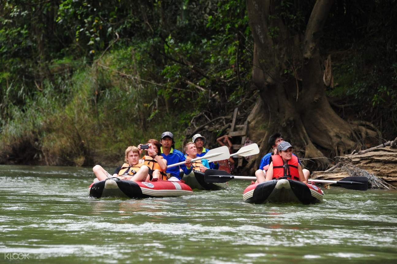 canoing Khao Sok National Park
