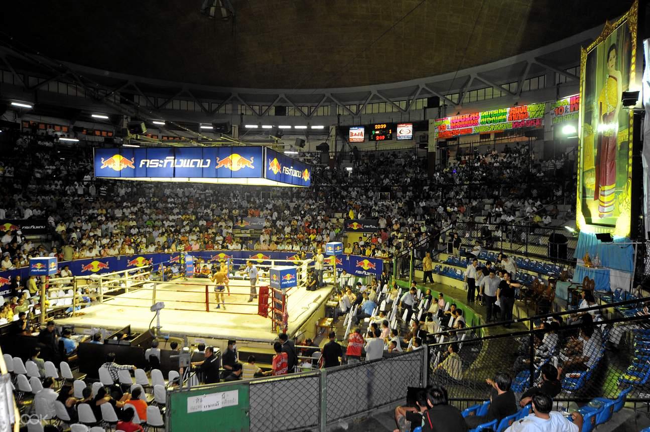 Rajadamnern Stadium Muay Thai seats