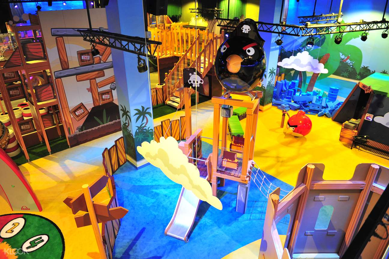 angry birds activity park discount tickets