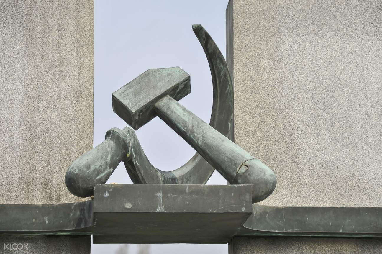 soviet union embklem of hammer and sickle
