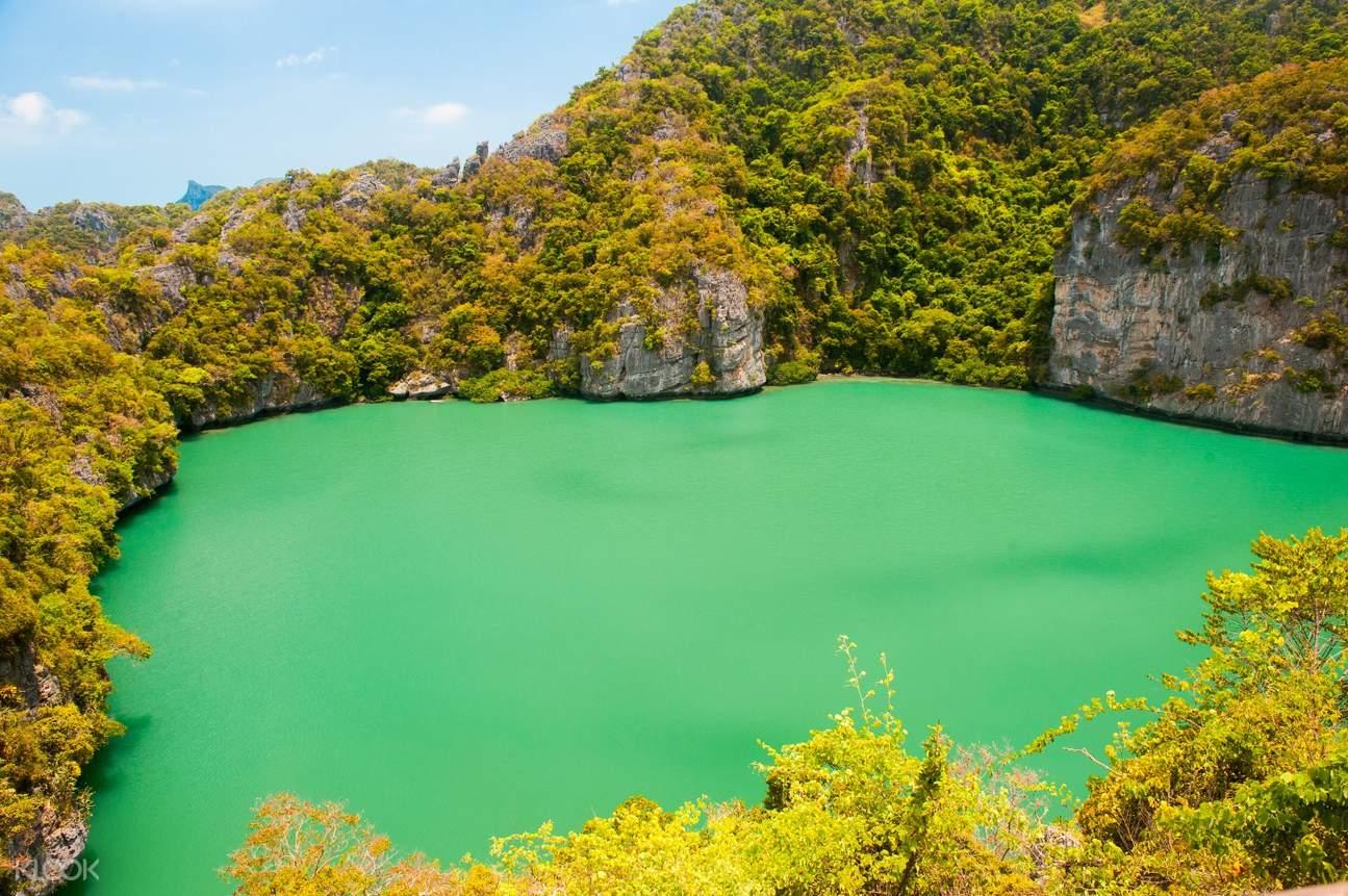 安通国家公园,帕延岛,苏美岛,李奥纳多.狄卡皮欧,Ko Mae Ko,Koh Tai Plao