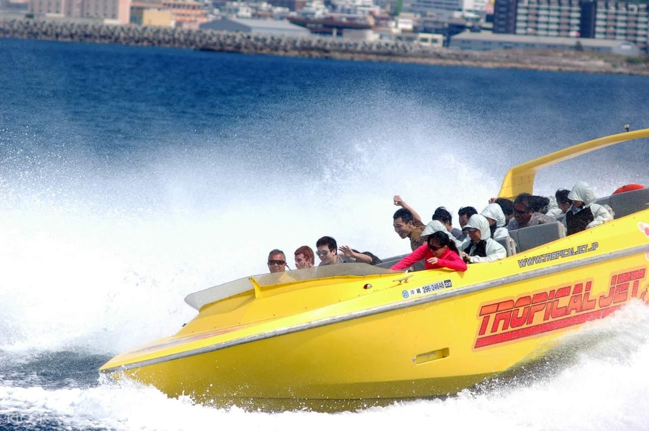 high speed jet boat okinawa