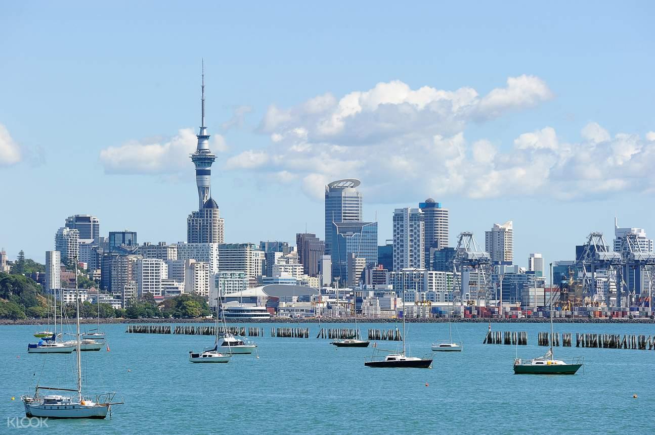 新西兰奥克兰海港巡游